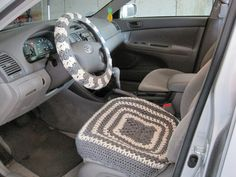 Crochet Pattern - Car Seat Cover (9vc2013)