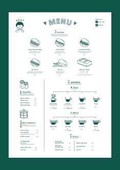 B Ā O ² logo & menu design on BehanceYou can find Restaurant menu design and more on our website.B Ā O ² logo & menu design on Behance Branding And Packaging, Cafe Branding, Branding Design, Stationery Design, Identity Branding, Corporate Design, Visual Identity, Menu Restaurant, Bar Restaurant Design