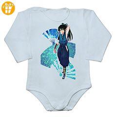 Nasu Suketaka Yoichi From Drifters Baby Long Sleeve Romper Bodysuit Extra Small - Baby bodys baby einteiler baby stampler (*Partner-Link)
