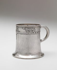 Cup, Robert R. Jarvie, Chicago, c. 1911, silver
