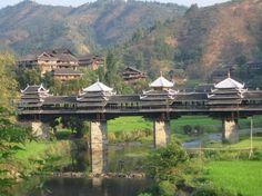 Bridges - Stunning 2. Chengyang Bridge, Sanjiang County, China
