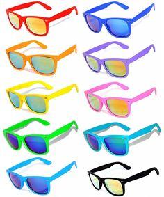 Vintage Mirrored Lens Eyeglasses Matte Frame 10 Pack Frame - 10_pairs_mix - C4127I4KO85 #Vintage#Mirrored#Lens#Eyeglasses#Matte#Frame#10#Pack#Frame#10#pairs#mix#C4127I4KO85 Kids Sunglasses, Wayfarer Sunglasses, Retro Sunglasses, Mirrored Sunglasses, Full Mirror, Float Trip, Blue Mirrors, Retro Vintage, Lens