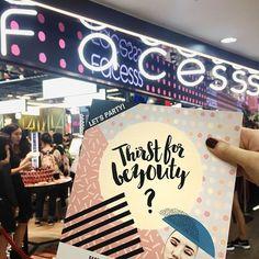 時代廣場 Facesss 今日正式開幕@FacesssHK #facesss #FacesssHK #facessstimessquare #be_yourself_be_beautiful #harpersbazaarhk #bazaarhk #bs  via HARPER'S BAZAAR HONG KONG MAGAZINE OFFICIAL INSTAGRAM - Fashion Campaigns  Haute Couture  Advertising  Editorial Photography  Magazine Cover Designs  Supermodels  Runway Models