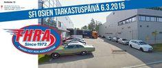 SFI osien tarkastuspäivä 6.3.2015 www.fhra.fi