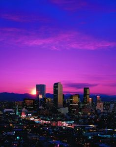 The Mile High City!
