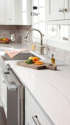 Best Calacatta Laza Quartz White Quartz Countertops Feature A 640 x 480