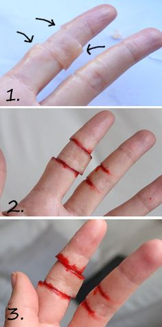 – I CUT MY FINGER! ( varning för blod! ) | Helen Torsgården – Hiilens sminkblogg