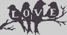 LOVE perler bead pattern - it may be a lovely cross stitch design Cross Stitch Love, Cross Stitch Charts, Cross Stitch Designs, Cross Stitch Patterns, Cross Stitching, Cross Stitch Embroidery, Embroidery Patterns, Perler Patterns, Loom Patterns