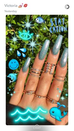 Having short nails is extremely practical. The problem is so many nail art and manicure designs that you'll find online Gorgeous Nails, Pretty Nails, Hair And Nails, My Nails, Crome Nails, Cute Acrylic Nails, Nail Games, Essie, Nail Inspo
