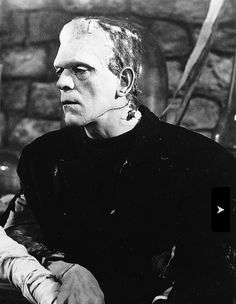 Karloff in Bride of Frankenstein (1935)