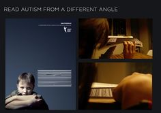Lebanese Autism Society: Read autism from a different angle | Ads of the World™