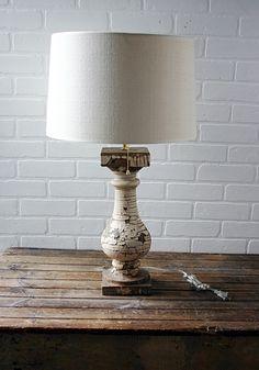 Lamp from Architectural Salvage