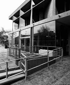 Carpenter Center. Harvard University. Cambridge, MA. Le Corbusier. 1962