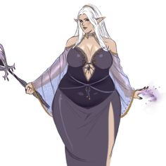 Dungeons and Dragons Inspiration — draw some fat elves you cowards you tepid fools Girls Characters, Dnd Characters, Fantasy Characters, Female Characters, Fat Anime Characters, Fantasy Character Design, Character Design Inspiration, Character Concept, Character Art
