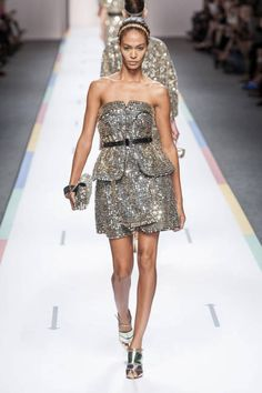 Spring 2013 Trend Report: Structured Skirting (Fendi)