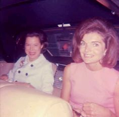 "chinoiserieandlace: ""Jackie with Kitty Carlisle outside the Colony Club in New York, June of 1965. """