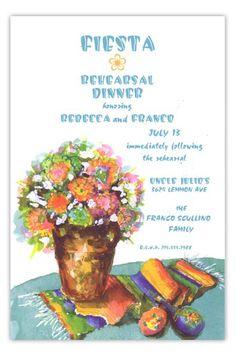 Sarape Fiesta Party Invitation | Summer Party Invitations | Polka Dot Design http://www.polkadotdesign.com/odd-balls/OB-3A197?utm_content=buffer2cb02&utm_medium=social&utm_source=twitter.com&utm_campaign=buffer #Fiesta