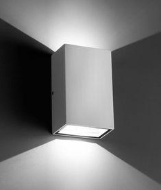 Aplique blanco LING LED detalle