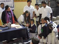 On 12th February 2016, Youth Services For Peace organised a book distribution campaign in Prathmik Vidyalaya in Pandukeshwar Village of Chamoli district.