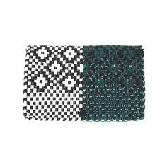 Truss - Pochette Woven Green Wht BLK