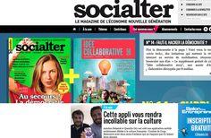 #Webjournalisme: Socialter porte un regard nouveau sur l'économie