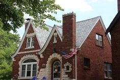 Recent slate roof restoration projects in historic South St. Louis neighborhood.