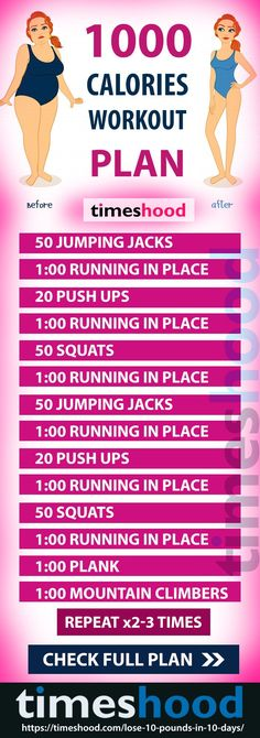 Fast weight loss workout challenge. 1000 Calorie Workout Plan to lose 10 pounds in 10 days. Lose 10 pound in 10 days Diet + Workout + Drinks Plan to follow for fast weight loss result. To lose weight fast you have to maintain your workout as well as diet plan. Best exercise for weight loss. https://timeshood.com/lose-10-pounds-in-10-days/ #loseweightdiet