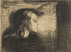 The Sick Child I, Edvard Munch, 1897 Edvard Munch, Expressionist Artists, Sick Kids, Post Impressionism, Art For Art Sake, Art Sketchbook, Oslo, Art Pictures, Art Pics