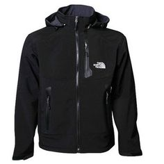 Discount free-tax North Face Mens Waterproof Soft Shell Jackets Black