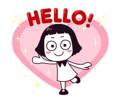 New gifts animados feliz Ideas Hello Betty, Hi Gif, Hello Quotes, Girl Emoji, Random Gif, Gif Photo, Good Morning, Morning Gif, Cartoon Gifs