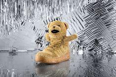 Adidas Holidays Bears Gold by Adidas x Jeremy Scott