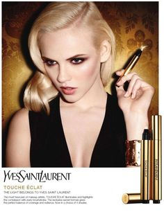 Yves Saint Laurent's Touche Eclat campaign enlists top models Jourdan Dunn and Ginta Lapina for two stunning advertisements. Captured by Terry Richardson… Beauty Ad, Beauty Shots, Beauty Products, Yves Saint Laurent, What Is Contouring, Ysl Beaute, Ginta Lapina, Jourdan Dunn, Terry Richardson