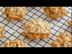 Coconut Lover's Oatmeal Cookies | barefeetinthekitchen.com