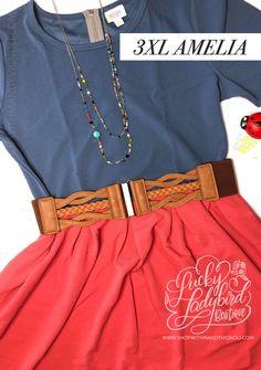 Shop this look and more at www.shopwithmandyvignoli.com #lularoeamelia #springfashion #plussizefashion