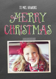 Classroom Christmas - Christmas Greeting Cards in Charcoal | Magnolia Press