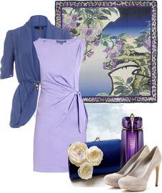 """""""violet tenderness"""" by sagramora on Polyvore"""