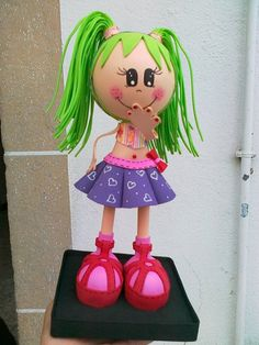 Originales muñecas fofuchas | Aprender manualidades es facilisimo.com