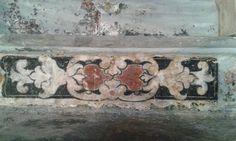 Decorazioni scoperte durante i recenti interventi di restauro della Chiesa di Sant'Antonio