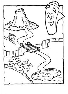 dora stars coloring pages - photo#18
