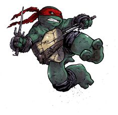 TMNT - Raphael by Ross Campbell