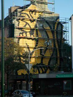 Neues Wandbild (Nähe HBf Düsseldorf)