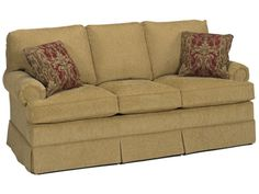 Shop for Temple American Sofa, 980-74, and other Living Room Sofas at Moores Fine Furniture in Uwchland or Limerick, PA. A collection of classic styles - Classic Traditions - furniture with simple tailored lines that lasts a lifetime and is passed on to future generations starting their own family tradition.
