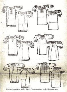 крій традиційної сорочки - Поиск в Google