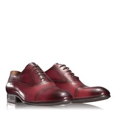 Anna Cori - Incaltaminte, genti si accesorii - Incaltaminte 2784 VITELLO BORDO Formal Shoes, Spring Summer 2016, Men's Collection, Derby, Oxford Shoes, Anna, Dress Shoes, Lace Up, Leather