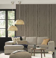 Raumbild; A.S. Création Tapete 300622 Natürliches Wohnen, Bambus,  Schlafzimmer, Wohnzimmer, Floral