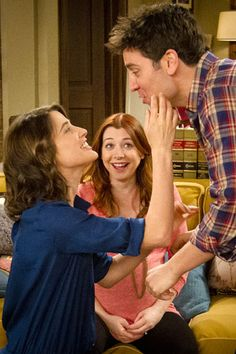 Emmys How I Met Your Mother Meets Baby Cobie Smulders Alyson Hannigan Josh Radnor The post Emmys How I Met Your Mother Meets Baby appeared first on Film. How I Met Your Mother, Cobie Smulders, Alyson Hannigan, Red Headed Actresses, Josh Radnor, Baby Toys, Baby Baby, Ted And Robin, Robin Scherbatsky