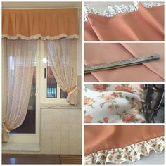 SPAZIO AI VOSTRI PROGETTI! Idea tendaggio realizzata da Lorenzetti Tende e tessuti. Località: Giulianova (TE).  Ci presentano i nostri tessuti della Collezione #Cottage lavorati e rifiniti, pronti per la consegna!  Visita il nostro sito www.ctasrl.com e scarica le nostre brochure su: http://bit.ly/1nhrLQM  #beauty #geometricleaves #trendy #tessuti #interiordesign #tendaggi #textile #textiles #fabric #homedecor #homedesign #hometextile #decoration