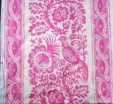 Jennifer Paganelli Fabric Mod Girls Pink Patsy 4.5 Yards Sis Boom Free Spirit  | eBay