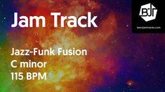 Jazz-Funk Fusion Jam Track in C minor - BJT #27 Jazz Funk, Backing Tracks