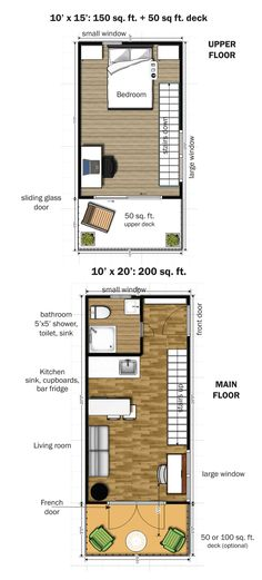 the-eagle-microhome-8 Such a unique floor plan- looks so much bigger that it actually is!